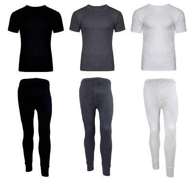 Unisex Bambini Termico Mutandoni Set Boys Girls T Shirt Fondo Caldo Inverno 4-11 Uk- Garantire Un Aspetto Simile Al Nuovo In Modo Indefinibile