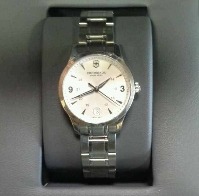 85fbdab42c Victorinox Swiss Army Alliance Steel Ladies Watch 241539 for sale ...