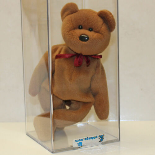NHT SP Ty Beanie Baby 1st gen tush tag Authenticated Teddy NF Brown