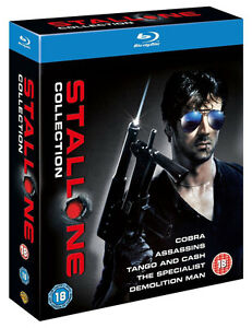 SYLVESTER-STALLONE-COLLECTION-Blu-ray-5-Movie-Box-Set-Cobra-Demolition-Man