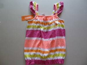 NWT Gymboree Girls Bright and Beachy Neon Pink Dress Size 4 /& 5