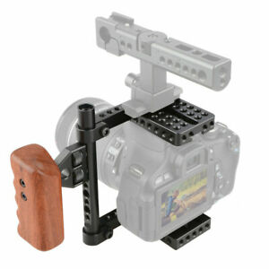 CAMVATE DSLR Camera Cage for Canon 60D,70D,80D,50D,40D,30D,6D,7D Nikon D7000,A99