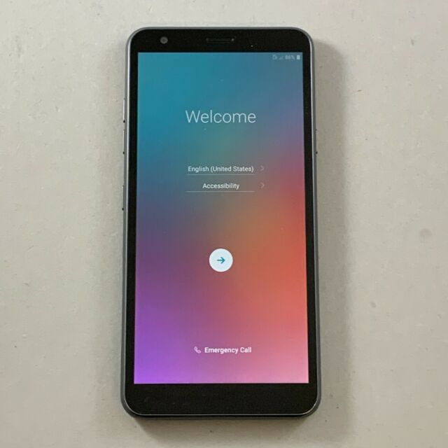Good LG Aristo 4+ Plus LM-X320TA 16GB Gray T-Mobile Android Smartphone