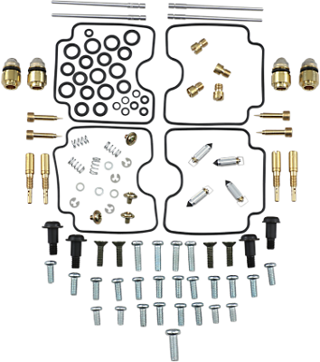 4x Carburetor Repair Carb Rebuild Kit  For Yamaha FZS 1000 FZ-1 Fazer 2001-2005