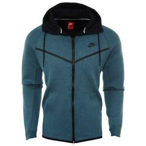 bc2702317a NEW Nike Men s Tech Fleece Windrunner Jacket Smokey Blue 805144-055 ...