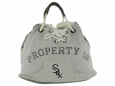 Neu Chicago Weißes Sox Mlb Property Of Kapuze Tragetasche/geldbörse L Too Cute Baseball & Softball