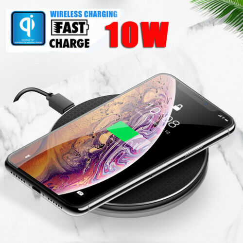Für Huawei iPhone 11 Pro Max Qi Wireless Charger Ladestation Induktive Ladegerät | eBay