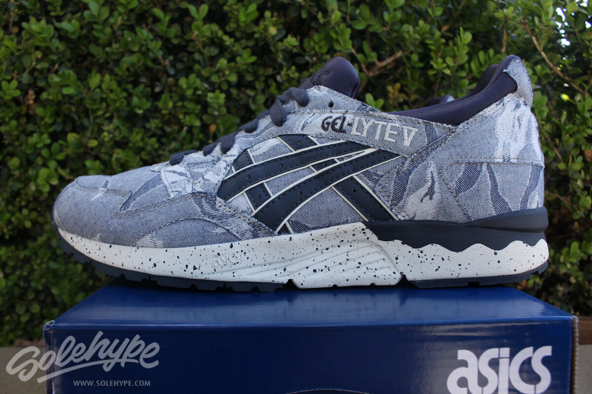 Asic gel lyte v 5 12 giapponese inchiostro indiano sz sz indiano tessile blu h612n 50 50 478e4a
