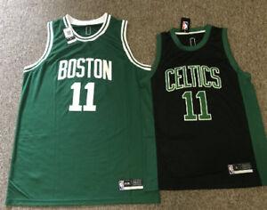 bcce16ba2 ADULT NBA BASKETBALL JERSEY  11 KYRIE IRVING BOSTON CELTICS BASKET ...