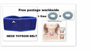 Details about 10 x pcs  Magnetic-Pyramid-Therapy-Thyroid-Neck-Belt/glands/Throat/Tonsil,cough