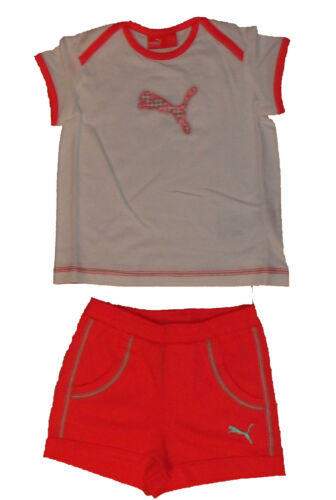 Puma Kinder Mädchen Sommer Set Shirt Hose 68-104 NEU