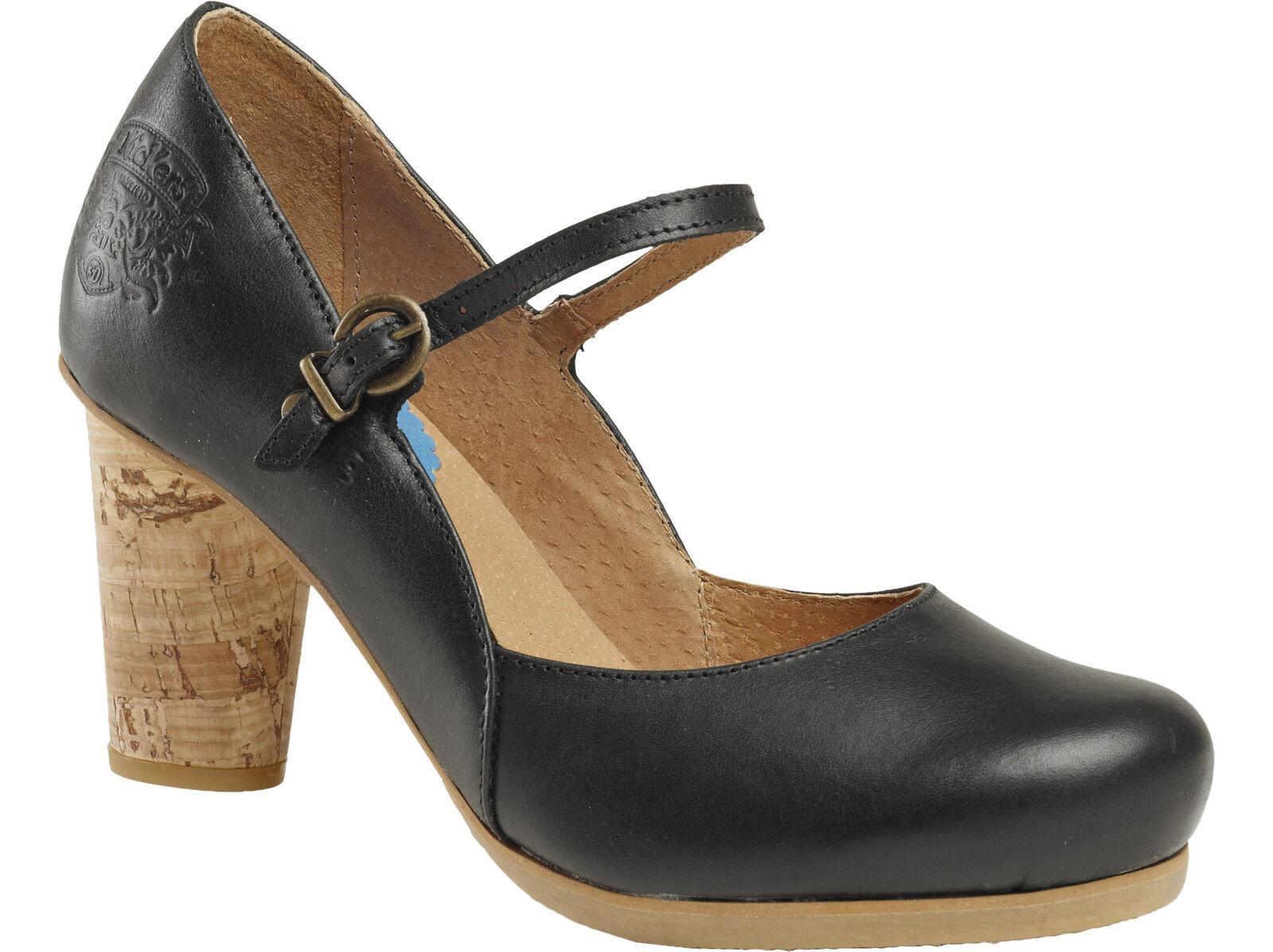 ti renderà soddisfatto Kickers scarpe da da da donna scarpe décolleté-artyciel-nero nero-Pelle -  scegli il tuo preferito