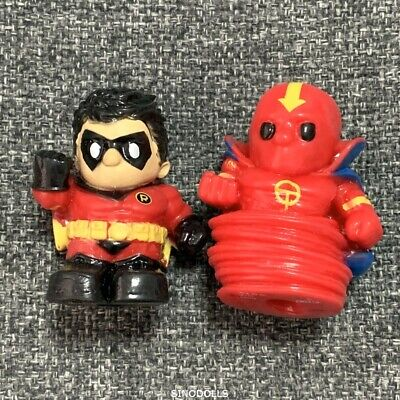 "Xmas Gift OOSHIES Pencil Topper ROBIN DC Comics 1.5/""Figure Kid Child Toy Collect"