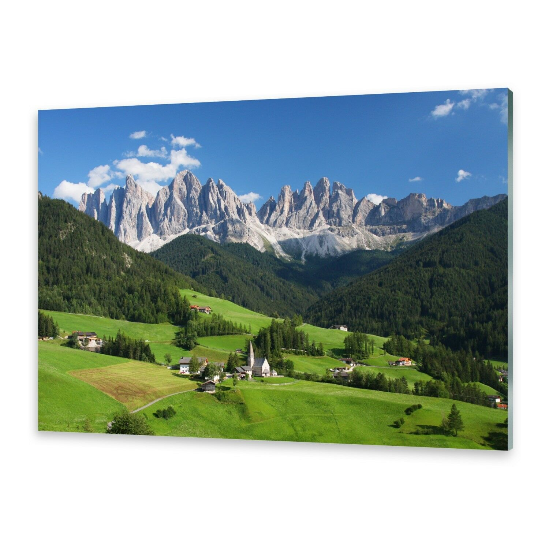 Acrylglasbilder Wandbild aus Plexiglas® Bild Dolomiten