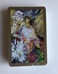 Full-SEALED-DECK-Playing-Cards-Fairy-Fairies-Angels-Women-Flowers-Garden-VINTAGE