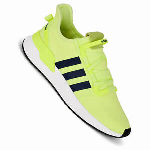 Details about Adidas u_ Path Run Neon Yellow Men's Sneakers G27643 Hi Res Yellow