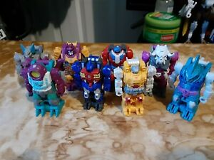 Lot of 8 Transformers Power of the Primes Prime Masters