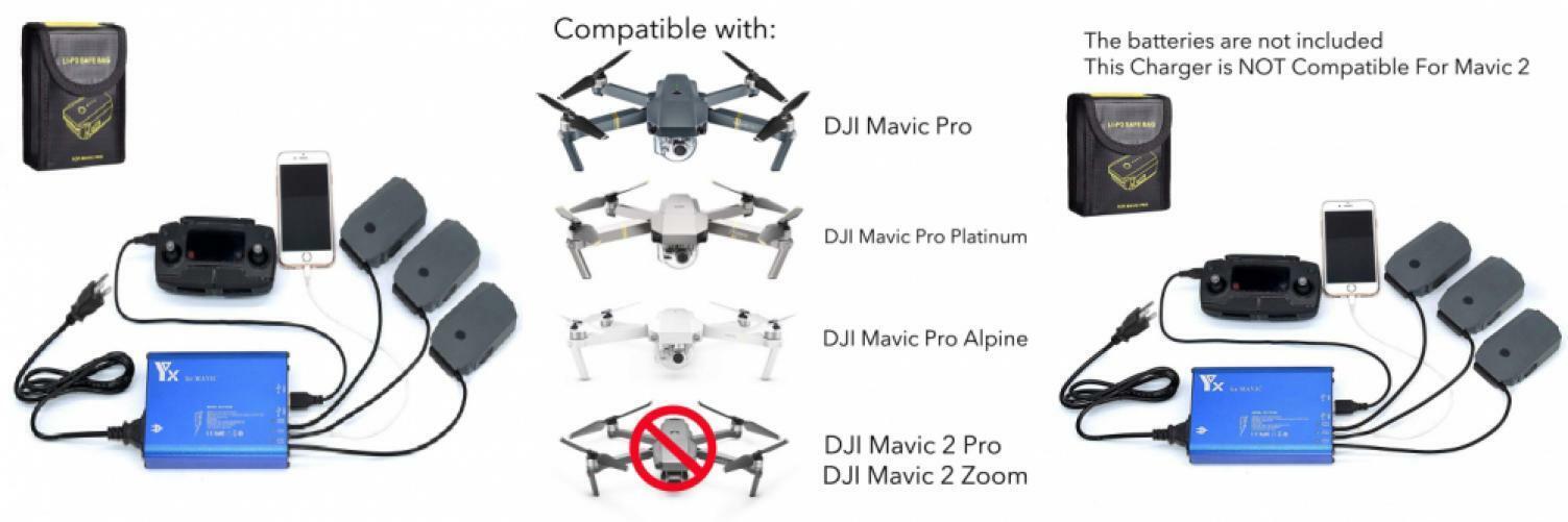 Fstop Labs Accesorios para DJI Mavic Pro Platinum Alpine.. rápido 5 en 1