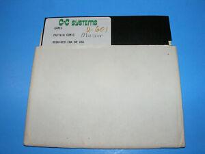 CAPTAIN-COMIC-5-25-034-EGA-VGA-PC-DOS-Floppy-Disk-Video-Game-Software-Very-Rare
