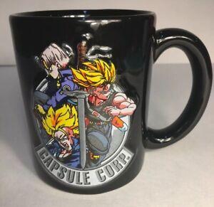 Dragonball Z Metal Freeza and Trunks Coffee Mug Cup Anime Manga NEW
