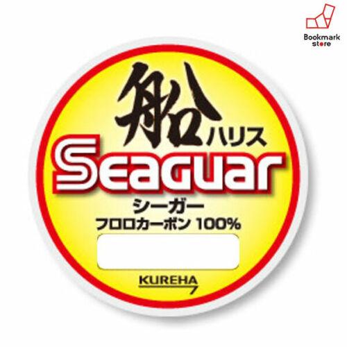 NEW Kureha Seaguar Fune 100m #10 Clear 0.520mm Fluorocarbon Leader 727352 Japan