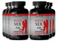 Muira Puama - Male Sex Pills 1275mg - Increases Penile Length Up Supplements 6B