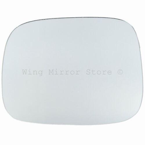 Left Passenger Side WING DOOR MIRROR GLASS For Volvo XC90 2007-2014 Stick On