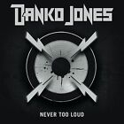 Never Too Loud by Danko Jones (Band) (Vinyl, Feb-2009, MRI)