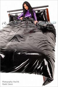 New Transparent Smoke Rubber Bedding Set U K Hand Made