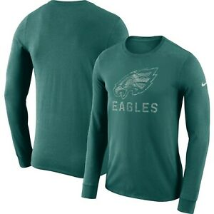 eb851250b Philadelphia Eagles NFL 2018 Dri-FIT Cotton Seismic L.S. T-Shirt XL ...