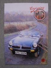 Enjoying MG Feb 1998, MGA Service Guide, MGF,Thrust SSC,MGB Electric Fan Fitting