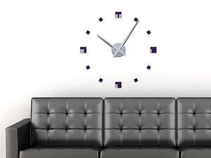 Wandtattoo Uhr Wanduhr Mit Uhrwerk Fur Wohnzimmer Modern Abstrakt