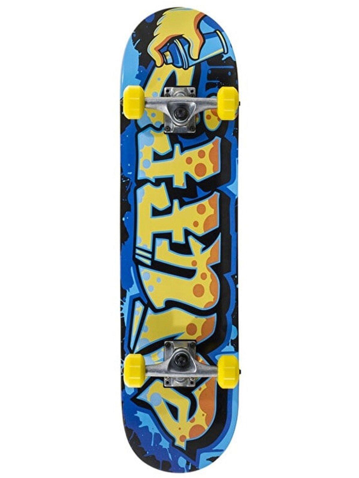 Enuff Graffiti giallo II - 7.25 Pollici Skateboard Kids Skateboard Pollici completo 3912b1
