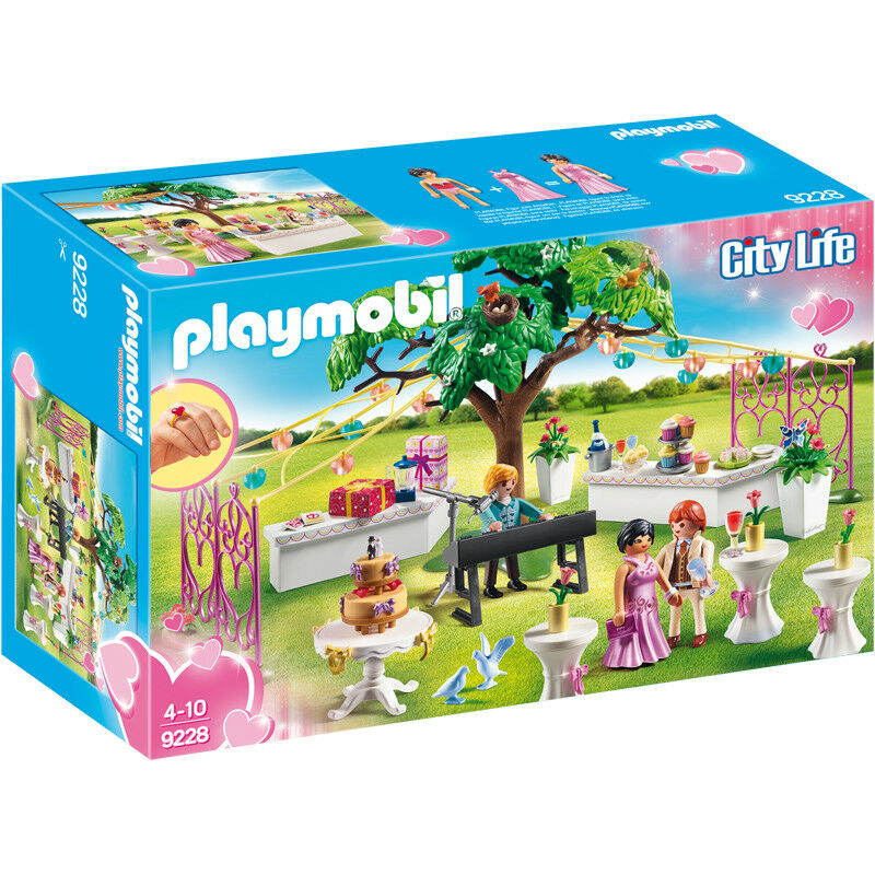 Playmobil City Life Wedding Reception 9228 NEW