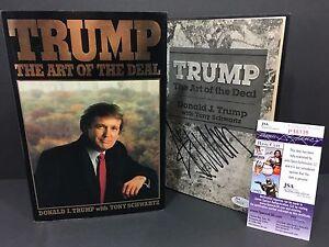 DONALD-TRUMP-SIGNED-AUTOGRAPH-THE-ART-OF-THE-DEAL-1ST-EDITION-BOOK-1987-JSA-COA