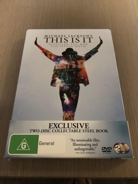 Michael Jackson - This Is it - Steelbook Edition - Region 4 DVD