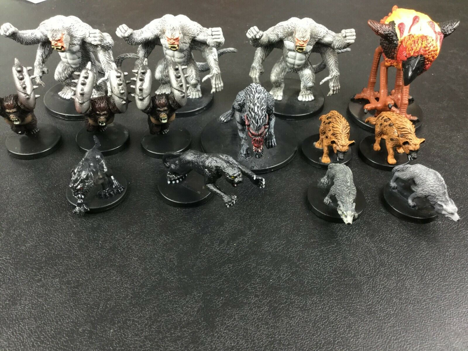 Dungeons and Dragons miniatures Animal Lot