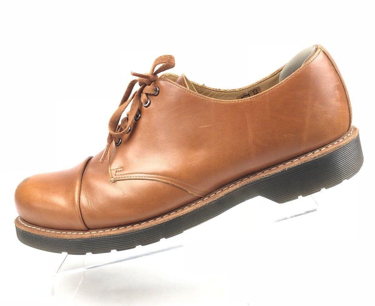 The Original Dr Martens Mens shoes Oxfords Brown Tan Leigh Air Wair 14