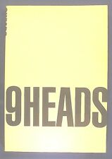 9 Heads : A Guide to Fashion Drawing by Nancy Riegelman (2000, Paperback)