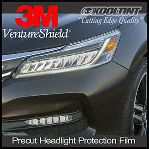 Headlight Protection Film By 3m For 2016 2017 Honda Accord Sedan Ebay
