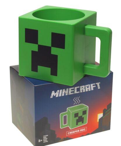 Minecraft  Tasse ** Creeper Gesicht ** Grün  Lizenzware  NEU/&OVP