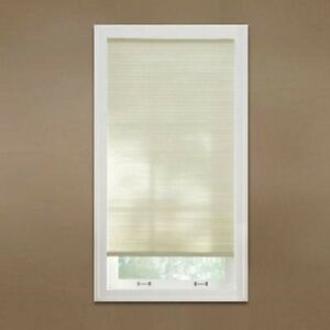 Home Decorators 9 16 In Light Filter Cordless Cellular Shade 48 X 48 Parchment Ebay