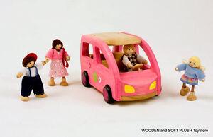 VOILA-TOY-child-039-s-kids-wooden-CAR-dolls-house-accessories-pretend-play-BRAND-NEW