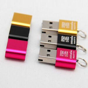 Cool-High-Speed-Mini-USB-2-0-Micro-SD-TF-T-Flash-Memory-Card-Reader-Adapter-New