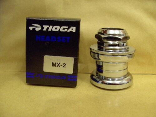 "NOS NEW BMX TIOGA MX 2 II 1/"" INCH HEADSET OLD SCHOOL BOXED"