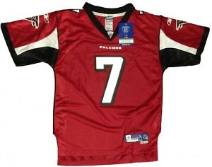 best website 11eee d3564 Details about NEW! Atlanta Falcons - Authentic NFL Jersey - Michael Vick #  7 - Youth Red