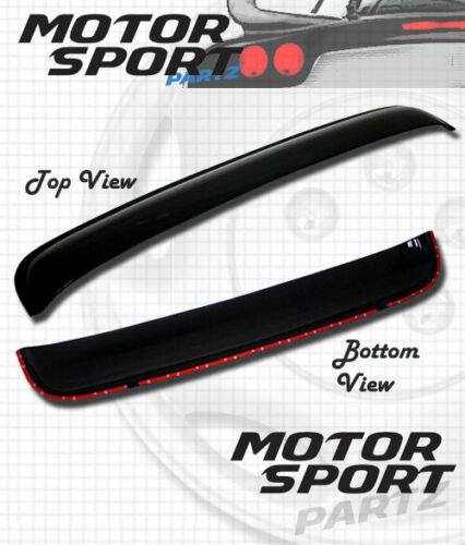5pcs 2mm Out-Channel Visor Rain Guards Sunroof For Honda Accord 4 DR 2013-2017