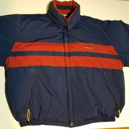 Vintage Reversible Nautica Competition Winter Down