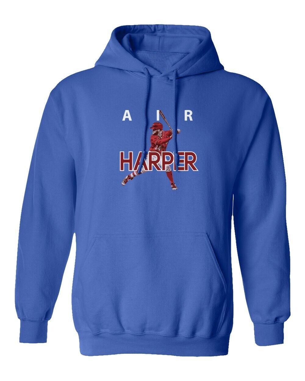 Philadelphia Fans Bryce Harper Phillies Philly Air Pic Hooded Sweatshirt