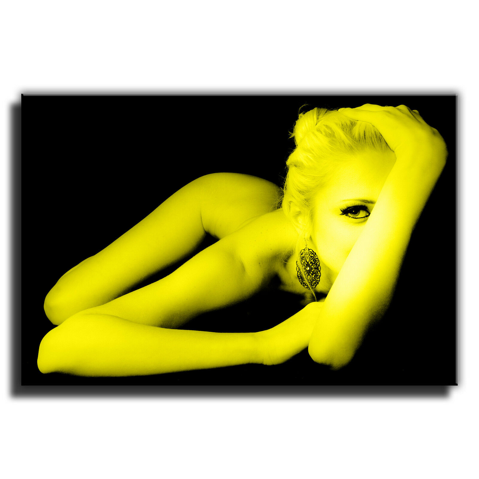 Sexy nu nu Sexy érotique femme single toile murale art photo print 8 d54f56